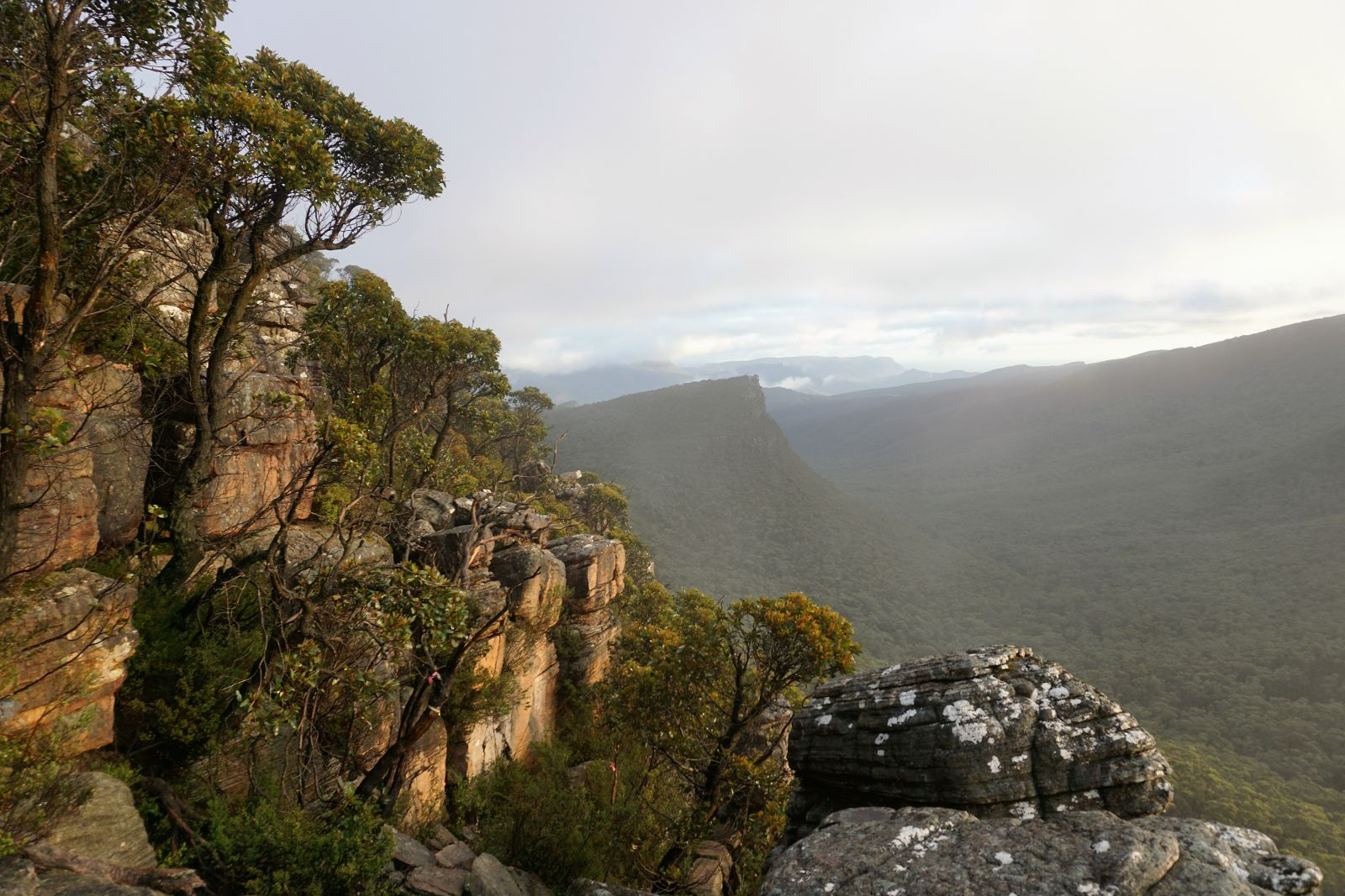 Looking west from Major Mitchell Plateau